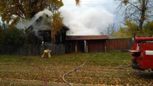 В Козловском районе в загоревшемся доме погибли двое братьев