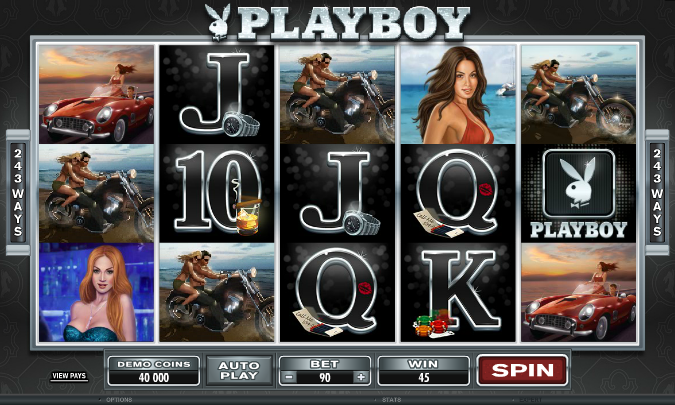 Игровой автомат Playboy: Hot Zone