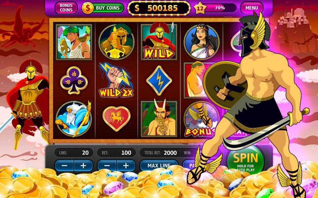 Испытай свою удачу с игровым автоматом «Zeus»