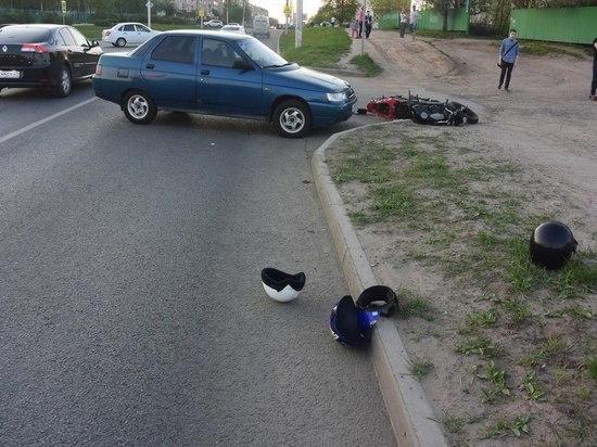 ГИБДД прокомментировала ДТП с мотоциклистом в столице Чувашии