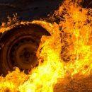Минувшей ночью в Рязани сгорел автомобиль