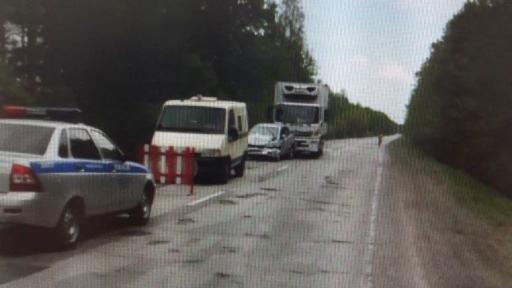 В ДТП с тремя машинами в Клепиковском районе пострадал ребёнок