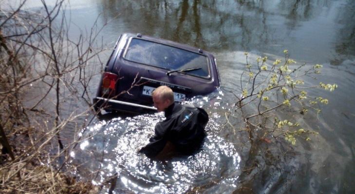 Житель Мордовии утонул вместе со своим автомобилем