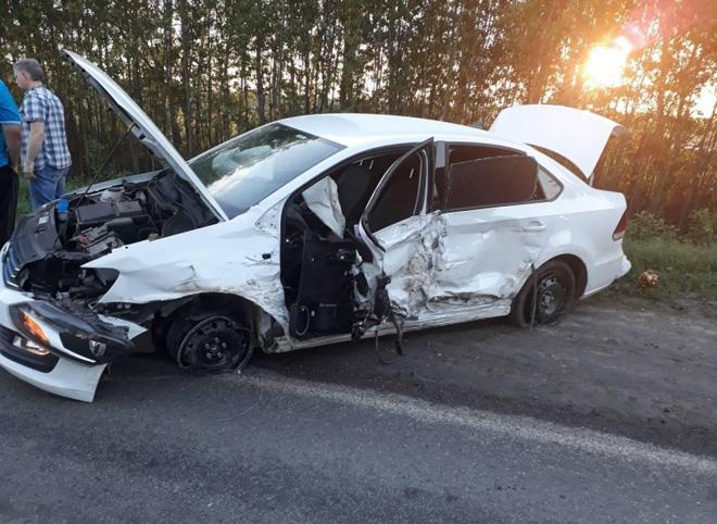 В Рязанской области пьяный водитель устроил ДТП с пострадавшими