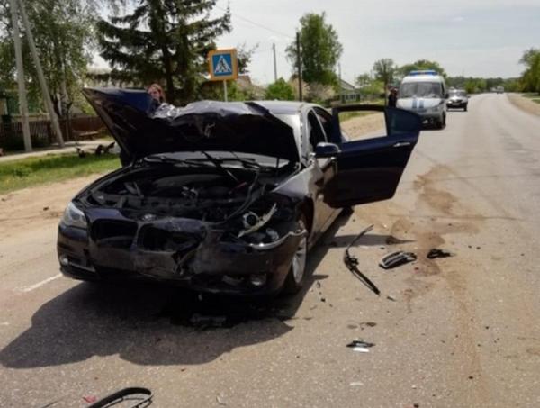 В Кораблинском районе пьяный водитель на BMW устроил ДТП