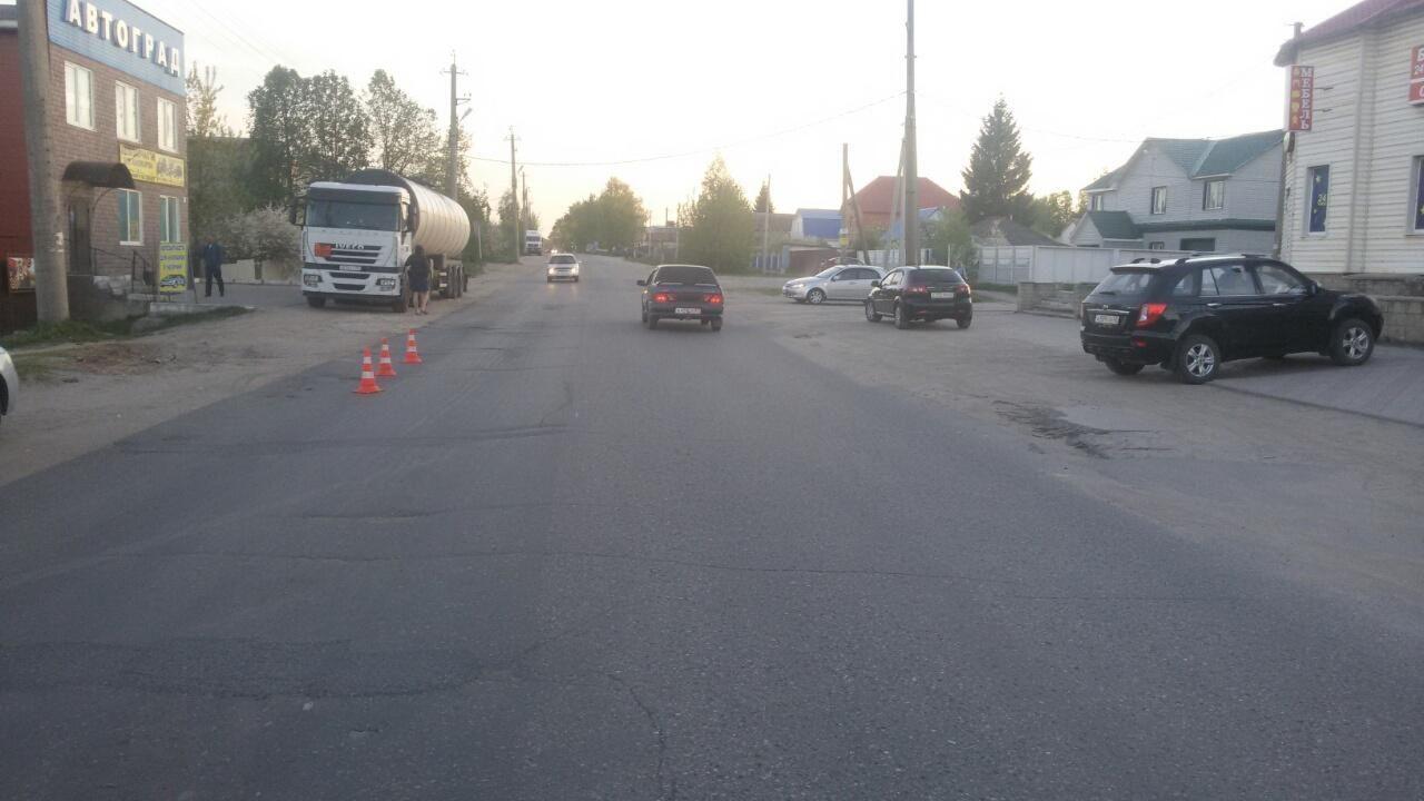 В Сасове водитель мотоцикла сбил пенсионерку и скрылся с места ДТП