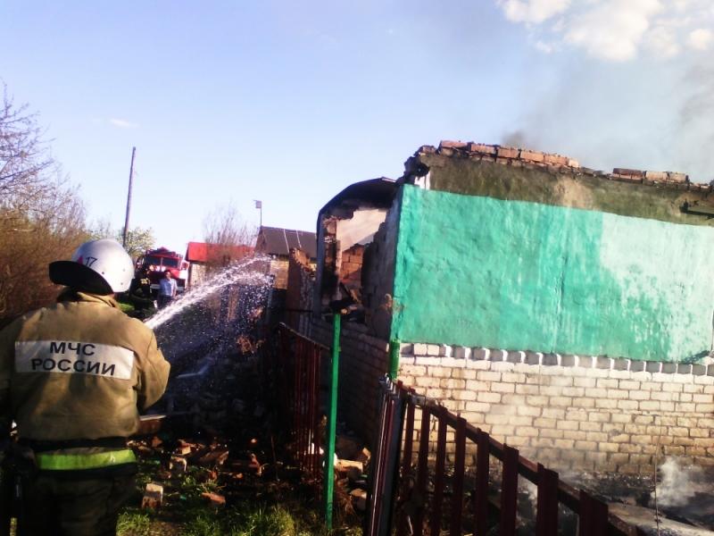 В Чувашии при пожаре в доме погибли пожилые супруги