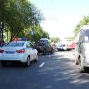 «ГАЗель» устроила массовое ДТП на проспекте Гагарина в Нижнем Новгороде