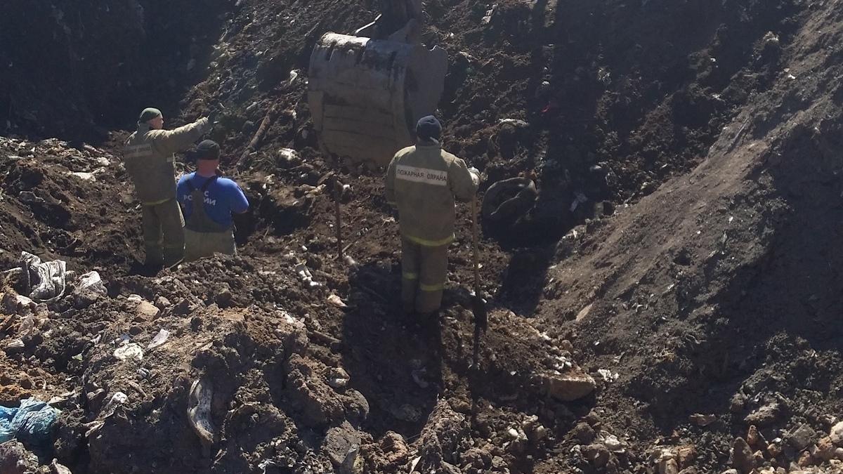 В Михайлове на свалке женщину насмерть засыпало мусором