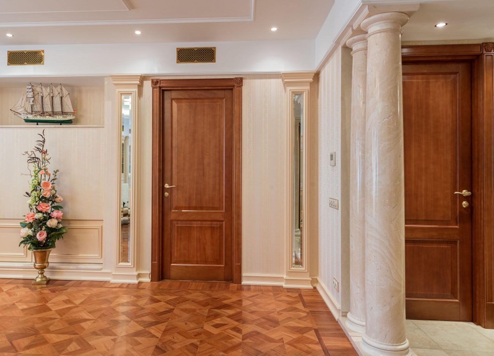 Высококачественные межкомнатные двери в классическом стиле